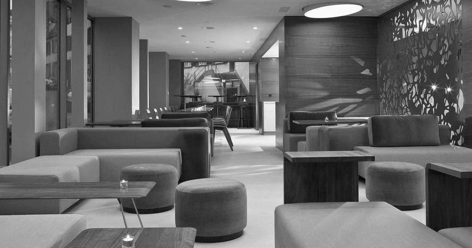 Réception de l'Hôtel de Charme Bâle· Hôtel D4 étoiles au centre ville de Bâle