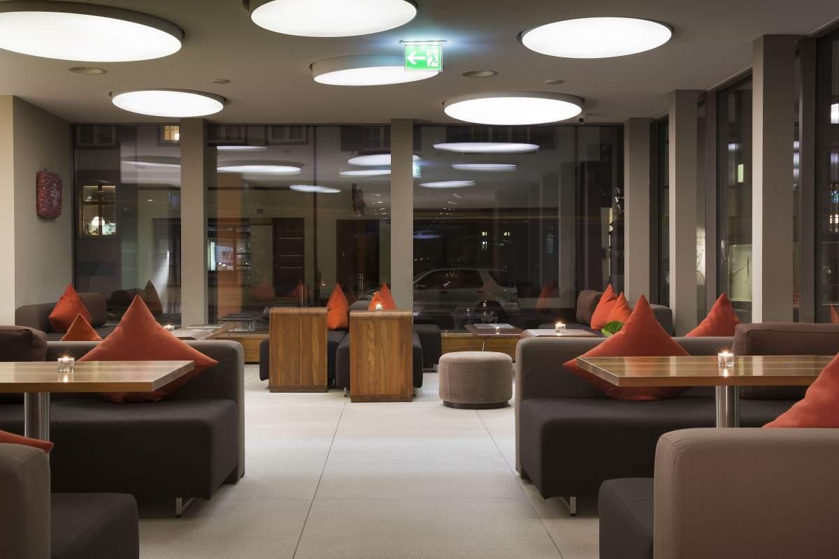 Salon de l'Hôtel D Bâle· Suisse· Hôtel Design 4 étoiles