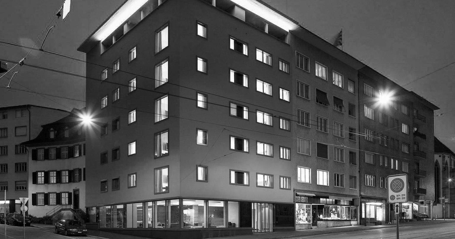 Vue extérieurede l'Hôtel D Bâle· Suisse· Hôtel Design 4 étoiles